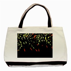 Colorful Spiders For Your Dark Halloween Projects Basic Tote Bag