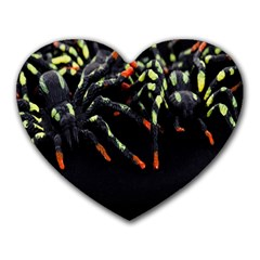Colorful Spiders For Your Dark Halloween Projects Heart Mousepads