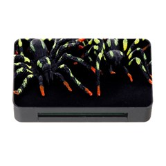Colorful Spiders For Your Dark Halloween Projects Memory Card Reader with CF