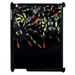 Colorful Spiders For Your Dark Halloween Projects Apple iPad 2 Case (Black)