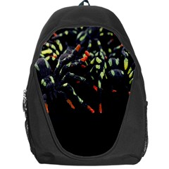 Colorful Spiders For Your Dark Halloween Projects Backpack Bag