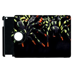 Colorful Spiders For Your Dark Halloween Projects Apple iPad 3/4 Flip 360 Case