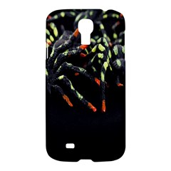 Colorful Spiders For Your Dark Halloween Projects Samsung Galaxy S4 I9500/I9505 Hardshell Case