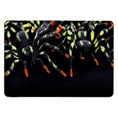 Colorful Spiders For Your Dark Halloween Projects Samsung Galaxy Tab 8.9  P7300 Flip Case