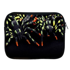 Colorful Spiders For Your Dark Halloween Projects Apple iPad 2/3/4 Zipper Cases