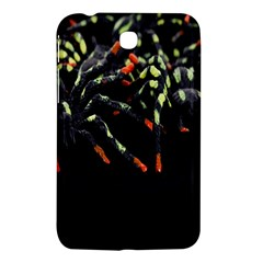 Colorful Spiders For Your Dark Halloween Projects Samsung Galaxy Tab 3 (7 ) P3200 Hardshell Case