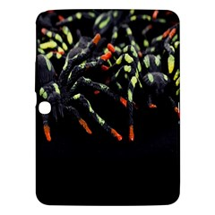 Colorful Spiders For Your Dark Halloween Projects Samsung Galaxy Tab 3 (10 1 ) P5200 Hardshell Case