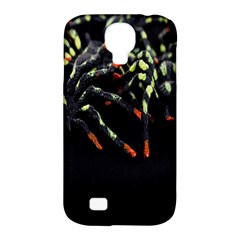 Colorful Spiders For Your Dark Halloween Projects Samsung Galaxy S4 Classic Hardshell Case (PC+Silicone)