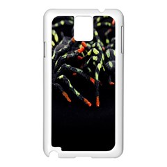 Colorful Spiders For Your Dark Halloween Projects Samsung Galaxy Note 3 N9005 Case (White)