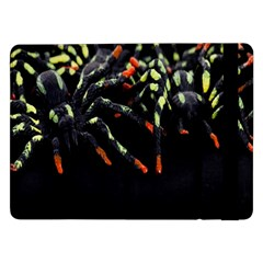 Colorful Spiders For Your Dark Halloween Projects Samsung Galaxy Tab Pro 12.2  Flip Case