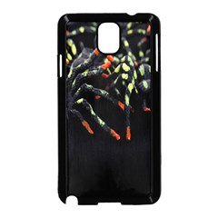 Colorful Spiders For Your Dark Halloween Projects Samsung Galaxy Note 3 Neo Hardshell Case (Black)
