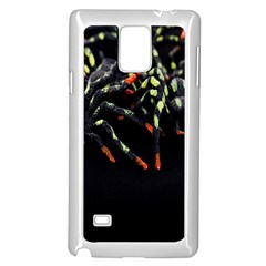 Colorful Spiders For Your Dark Halloween Projects Samsung Galaxy Note 4 Case (white)