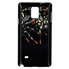 Colorful Spiders For Your Dark Halloween Projects Samsung Galaxy Note 4 Case (black)
