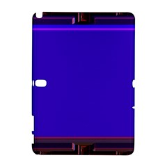 Blue Fractal Square Button Galaxy Note 1