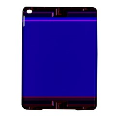 Blue Fractal Square Button Ipad Air 2 Hardshell Cases