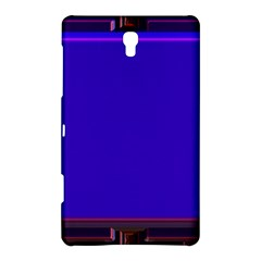 Blue Fractal Square Button Samsung Galaxy Tab S (8.4 ) Hardshell Case