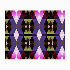 Geometric Abstract Background Art Small Glasses Cloth