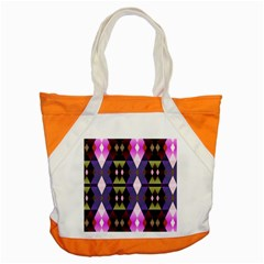 Geometric Abstract Background Art Accent Tote Bag