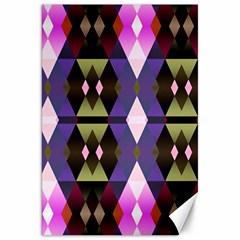 Geometric Abstract Background Art Canvas 20  X 30