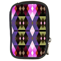 Geometric Abstract Background Art Compact Camera Cases