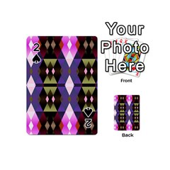 Geometric Abstract Background Art Playing Cards 54 (Mini)