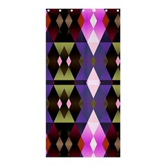 Geometric Abstract Background Art Shower Curtain 36  X 72  (stall)