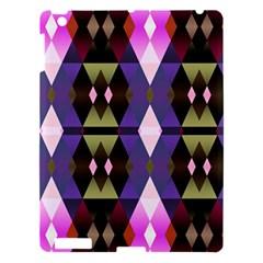 Geometric Abstract Background Art Apple iPad 3/4 Hardshell Case
