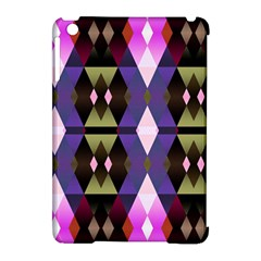Geometric Abstract Background Art Apple iPad Mini Hardshell Case (Compatible with Smart Cover)