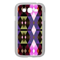 Geometric Abstract Background Art Samsung Galaxy Grand Duos I9082 Case (white)