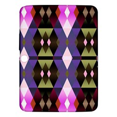 Geometric Abstract Background Art Samsung Galaxy Tab 3 (10.1 ) P5200 Hardshell Case