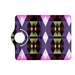 Geometric Abstract Background Art Kindle Fire HD (2013) Flip 360 Case