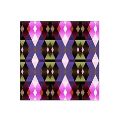 Geometric Abstract Background Art Satin Bandana Scarf