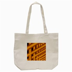 Fractal Background With Gold Pipes Tote Bag (cream)