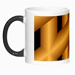 Fractal Background With Gold Pipes Morph Mugs