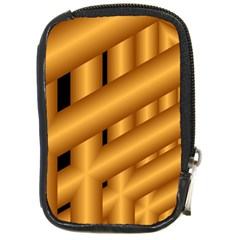 Fractal Background With Gold Pipes Compact Camera Cases