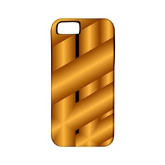 Fractal Background With Gold Pipes Apple Iphone 5 Classic Hardshell Case (pc+silicone)