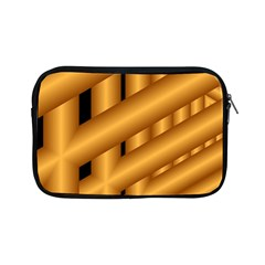 Fractal Background With Gold Pipes Apple Ipad Mini Zipper Cases