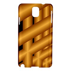 Fractal Background With Gold Pipes Samsung Galaxy Note 3 N9005 Hardshell Case