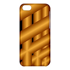 Fractal Background With Gold Pipes Apple Iphone 5c Hardshell Case