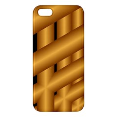 Fractal Background With Gold Pipes Iphone 5s/ Se Premium Hardshell Case