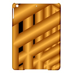 Fractal Background With Gold Pipes iPad Air Hardshell Cases