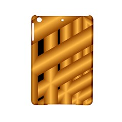Fractal Background With Gold Pipes Ipad Mini 2 Hardshell Cases