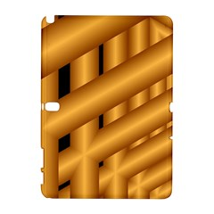 Fractal Background With Gold Pipes Galaxy Note 1