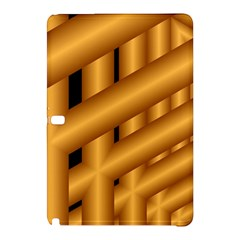 Fractal Background With Gold Pipes Samsung Galaxy Tab Pro 10.1 Hardshell Case