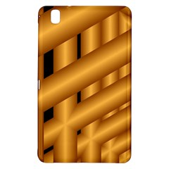Fractal Background With Gold Pipes Samsung Galaxy Tab Pro 8.4 Hardshell Case