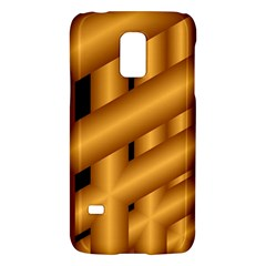 Fractal Background With Gold Pipes Galaxy S5 Mini