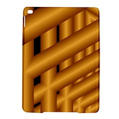 Fractal Background With Gold Pipes iPad Air 2 Hardshell Cases