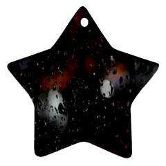 Lights And Drops While On The Road Ornament (Star)