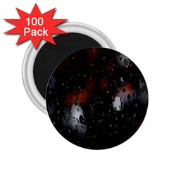 Lights And Drops While On The Road 2.25  Magnets (100 pack)