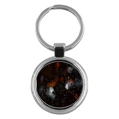 Lights And Drops While On The Road Key Chains (Round)